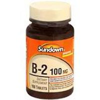 La vitamine B-2 TABS 100 MG SDWN Taille: 100