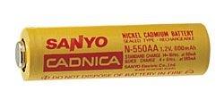 SANYO N-700AAC NiCd AA 1.2V 700mAh SANP1100 (Sanyo Nicad Batteries)