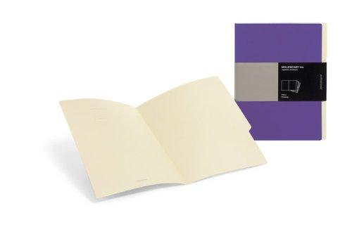 Moleskine Folio Professional Filers (Set of 3), A4, Purple (12 x 9.5)