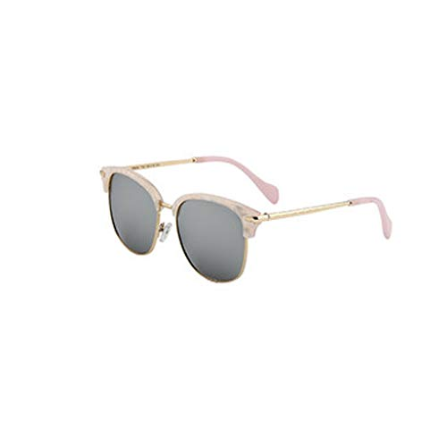 2018 cadre A rétro film Lunettes grand rond de de tendance lunettes UV visage soleil protection mode couleur Femmes polarisées nouveau w6BqI84B