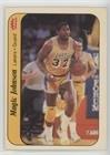 Magic Johnson (Basketball Card) 1986-87 Fleer - Stickers #7