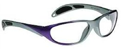 Avant-Guard X-Ray Radiation Protection Glasses, 0.75mm Pb Equivalency Lens, Carbon/Gray by Colortrieve