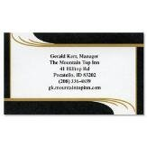 Onyx Business Cards (Set of 250)