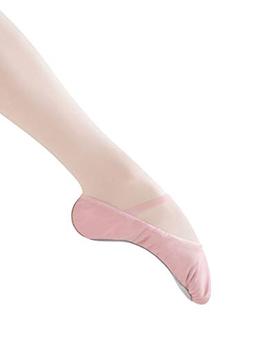 Bloch Dance Bunnyhop Ballet Slipper (Toddler/Little Kid)  Little Kid (4-8 Years), Pink - 10 A US Little Kid (Bunnies Dancing)