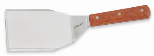 Mundial 4687M 5-Inch by 4-Inch Steak and Hamburger Turner, Wood