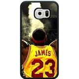 Cleveland Cavaliers 1 Custom Phone Case Design for Samsung Galaxy S6 covers with Balck Laser Technology