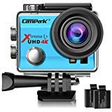 Campark ACT74 Action Camera 4K WiFi Waterproof Sports Camera 170...