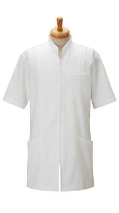 病院や整骨院などに【メンズジャケット】(半袖)《052-00119》 (L) B009ZMOF78