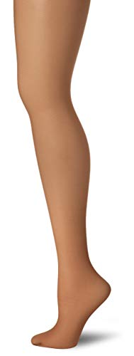 Hanes Women's Non Control Top Sandalfoot Silk Reflections Panty Hose, Barely There, A/B ()