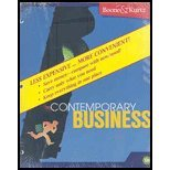 Contemporary Business, 13th Edition Binder Ready Version, Boone, 0470453095