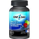 Un Vitacraves multivitamines une journée hommes, 50 Count (Pack 2)