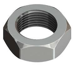 7/16-20 Finish Pattern Hex Jam Nuts 316 Stainless Steel Package Qty 50 by TSDLLC