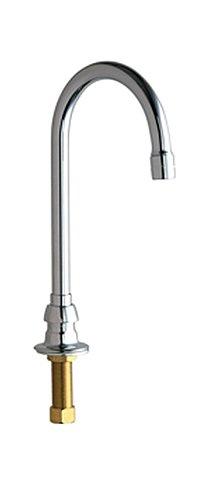 UPC 611943140069 Chicago Faucets 626 E3CP Deck Mount Gooseneck Spout Lavato