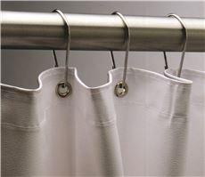 Bobrick Washroom Equipment B204-3 70 IN X 72 IN SHOWER CURTAIN VINYL (Bobrick Toilet Partitions)