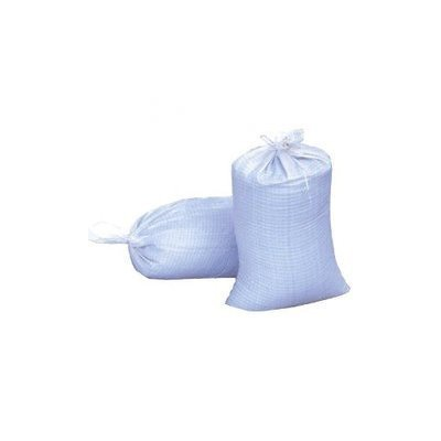 Woven Polypropylene Sand Bags With Ties & UV Protection Size: 14x26, Number of Bags: 100 Bags
