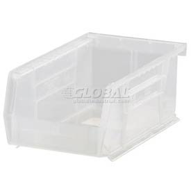 Hang Bin Clear Window - Quantum QUS221CL Clear Ultra Stack and Hang Bin, 9-1/4