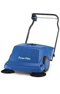 Powr-Flite PS900BC 36'' Battery powered Self-Propelled Sweeper (Battery Powered) by Powr-Flite