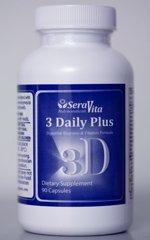3 день плюс - 90 Caps (Multi Vitamin, ферментов и амино-кислоты смесь)