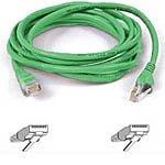 Belkin Snagless CAT5E Patch Cable RJ45M/RJ45M; 50 Green (A3L791b50-GRN-S)