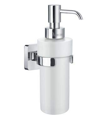 Smedbo ICE Soap Dispenser OK369P Polished Chrome .Include Glue.Fixing Without Drilling