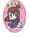 Little Witch Academia Akko Ver.1 Badge