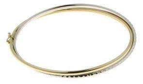 Diamantly - Bracelet 2 Ors 2 Joncs Croises - or 375/1000 (9 Carats) - Femme - Fille