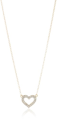 10k Y (Gold Necklace Heart)