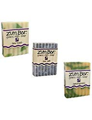 Fresh and Balancing Zum Bars - Lime-Basil, Sea Salt & Lemongrass by Indigo Wild