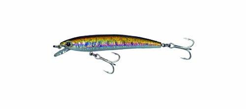 Yo-Zuri F1015MHYM Pin's Minnow Floating Nat, Rainbow Trout, 2-3/4-Inch, 1/8-Ounce