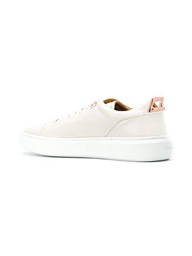 Buscemi Mens 118sm053lc010f0002 Sneakers In Pelle Bianca
