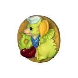 Pocket Dragon Dragons - Baking Cookies Pocket Dragons Brooch 02735