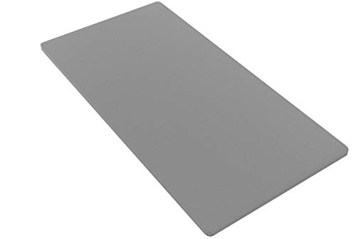 Spinal Solution BByy-3/3 Foundation/Bunkie Board, Twin, Grey
