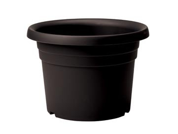 Cilindro Planter Black 70cm by Stewart Garden Products 2263005