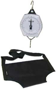 Mechanical Baby Scale with Sling, Capacity: 25kg x 100g/56lb x 4oz