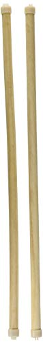 Living World 16-Inch Wooden Perch, 2-Pack