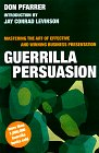 Guerrilla Persuasion, Don Pfarrer, 0395881684