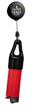 3 Original Lighter Leash Clips (Colors : Red, Blue, & Black)