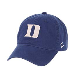 Zephyr Duke University DU Dukies Blue Devils Top Blue Scholarship Relaxed Unstructured Adult Mens//Boys//Womens Adjustable Baseball Hat//Cap
