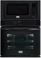 Frigidaire FGMC2765PBGallery 27″ Black Electric Combination Wall Oven – Convection
