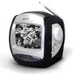 GPX 5'' Black and White Television
