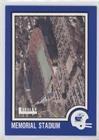 Memorial Stadium (Football Card) 1989 Leesley Kansas Jayhawks - [Base] #38