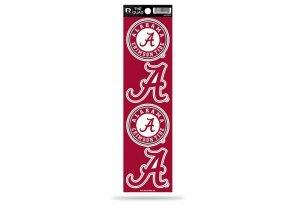 Alabama Crimson Tide Decals - Rico NCAA Alabama Crimson Tide Quad Decal