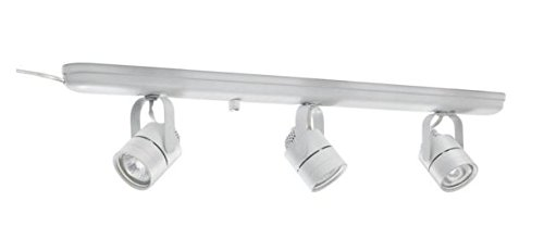 "Hampton Bay 3 Light White Plug In Track Li 5.31""h x 2.52""..."