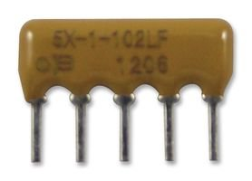 RESISTOR NETWORK, 10K 4605X-101-103LF Pack of 5 By BOURNS BPSRE04738-4605X-101-103LF