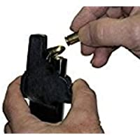Universal Speed Mag Loader - 9mm to 45ACP Handgun Pistol Speed Magazine Loader. Loads all 9mm Luger, 10mm.357 Sig, 10mm.40, and .45ACP cal tarus (Black)