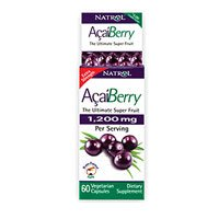 Natrol AcaiBerry Vegetarian Capsules