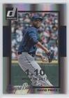 David Price #84/110 (Baseball Card) 2014 Panini Donruss - [Base] - Silver Season Stat Line #344