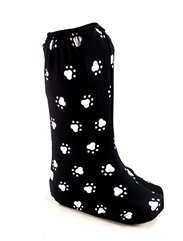 My Recovers Walking Brace Cover for Fracture Boot, Fashion Cover in Dog Paw, Tall Boot, Made in USA, Orthopedic Products Accessories (Small)