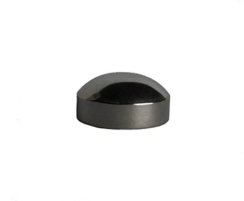 VistaView CableTec - Brushed Stainless Steel Dome End Caps for Cable Railings (Lot of 10 ()
