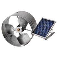 UPC 050206028506, Solar Power Gable Mount Vent